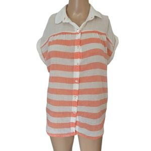 Anthropologie Hei Hei Blouse XS Shirt Top Popover